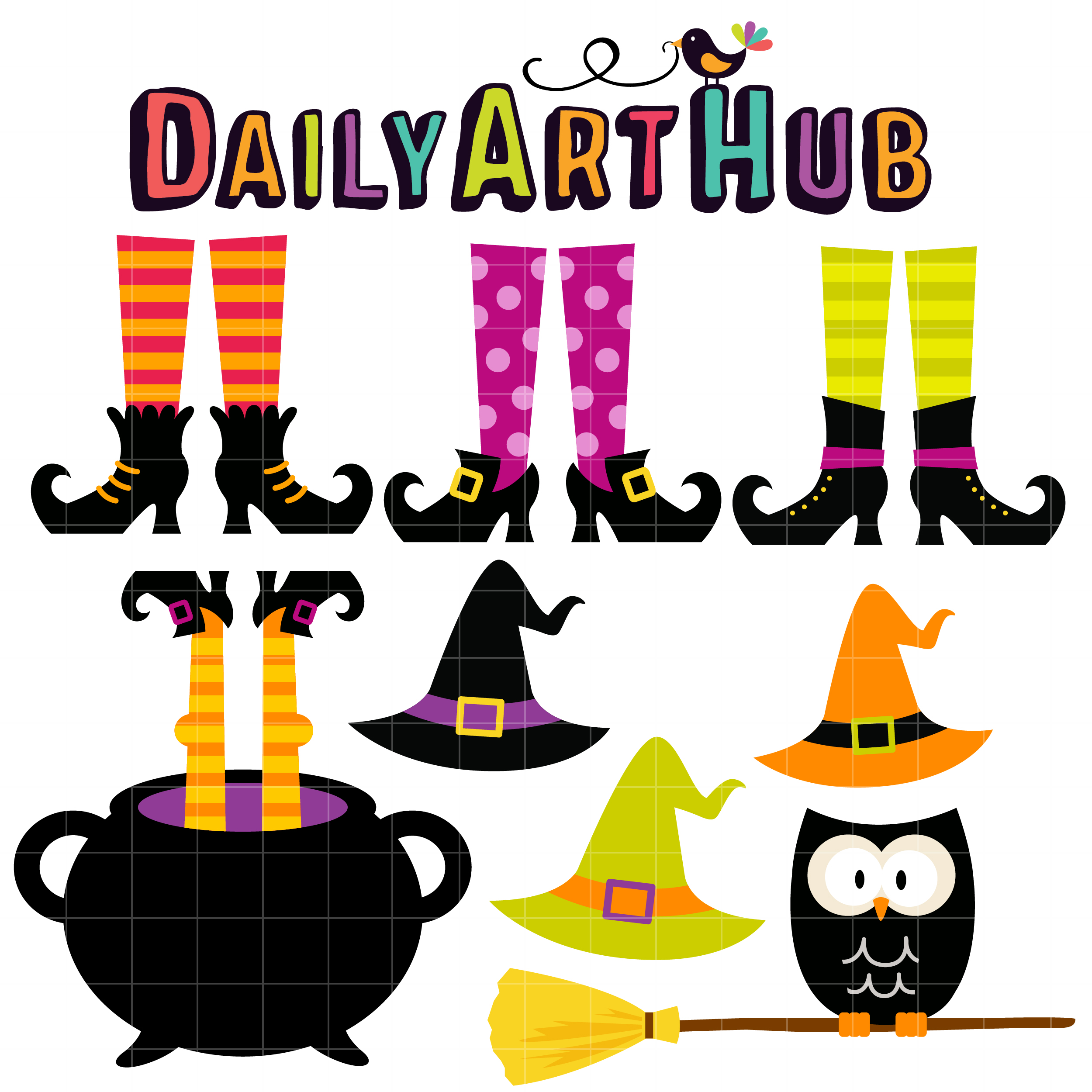 Witch clipart foot. Free download best on