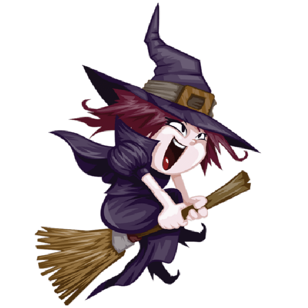 Witch clipart friendly witch. Little witches days of