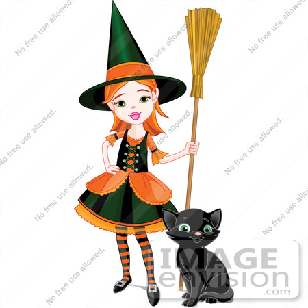 Panda free images . Witch clipart friendly witch