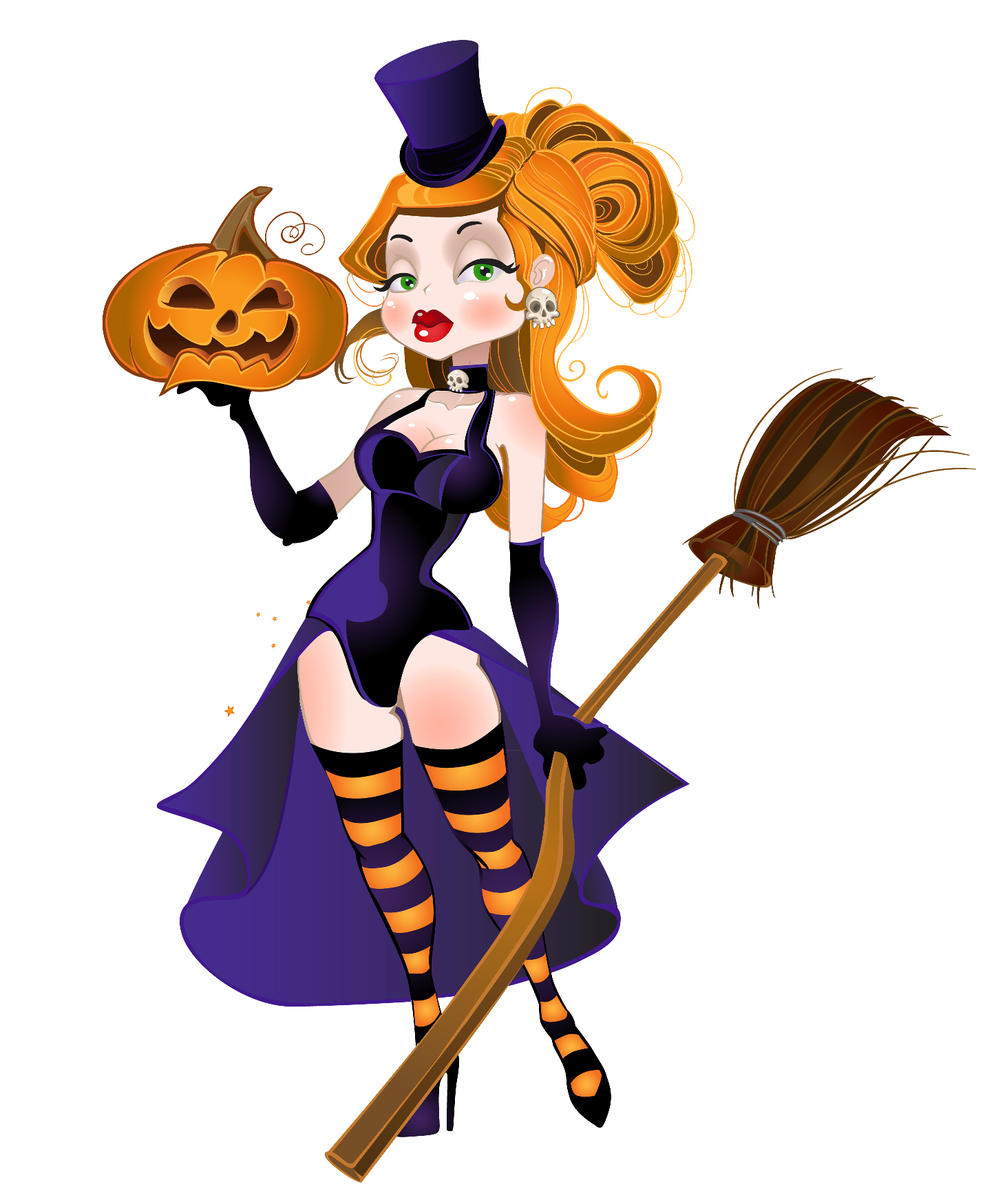 Witch clipart group witch. Halloween toon jan