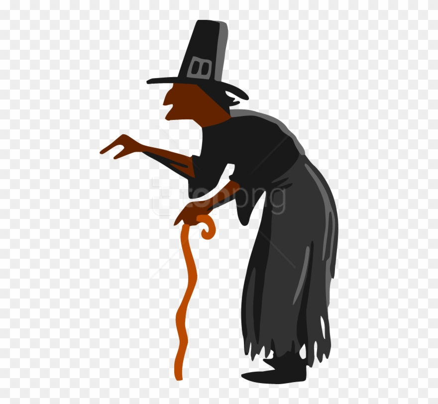 Witch clipart hag. Free png download photo