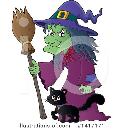 Witch clipart hansel and gretel witch. Illustration by visekart