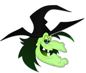 Witch clipart happy. Free flying graphics animations