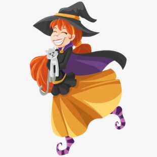 Witchcraft clip art . Witch clipart happy