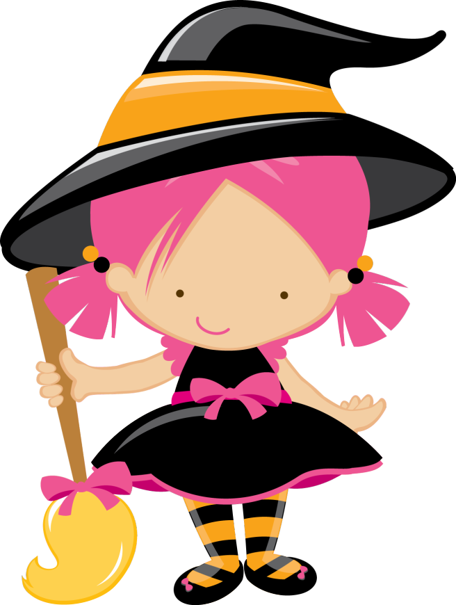 Witch clipart kawaii. Pin by marina on