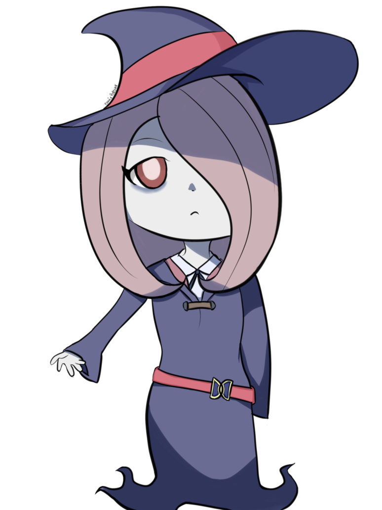 Academia chibi sucy manbavaran. Witch clipart little witch