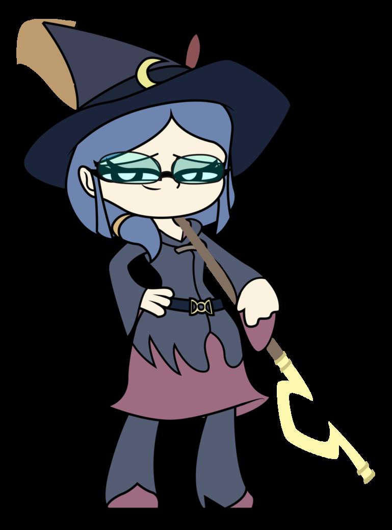 Witch clipart little witch. Academia mini ursula callistis