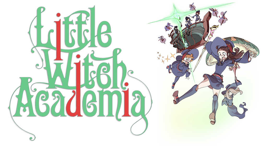 Academia tv fanart . Witch clipart little witch