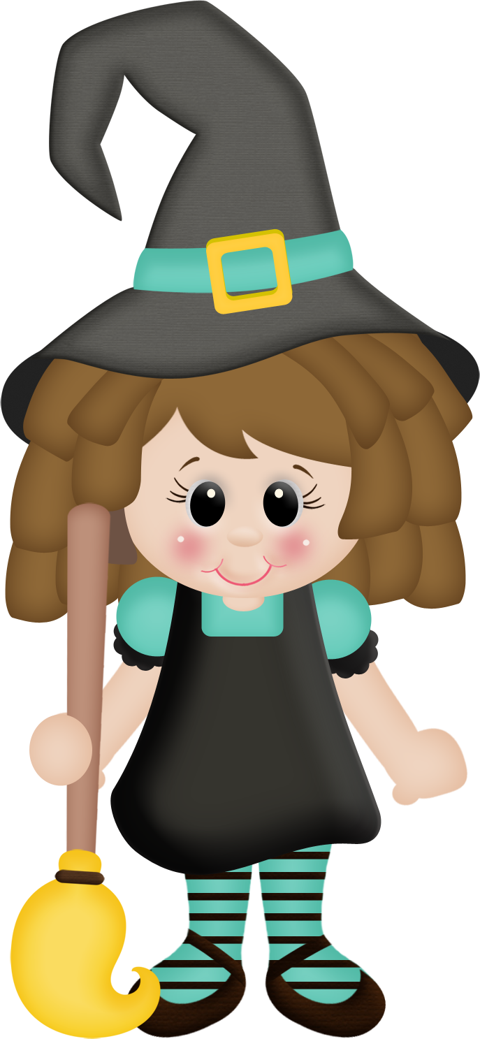 Quenalbertini cute halloween . Witch clipart little witch
