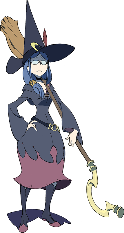 Image ursula final design. Witch clipart little witch