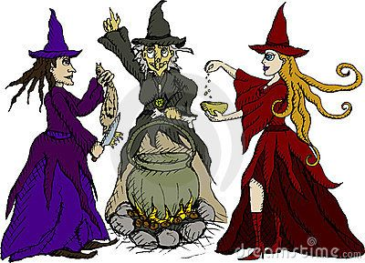 Witch clipart macbeth. The three witches told