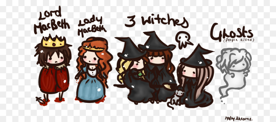 Cartoon character drawing illustration. Witch clipart macbeth