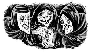 Witch clipart macbeth. Image result for three