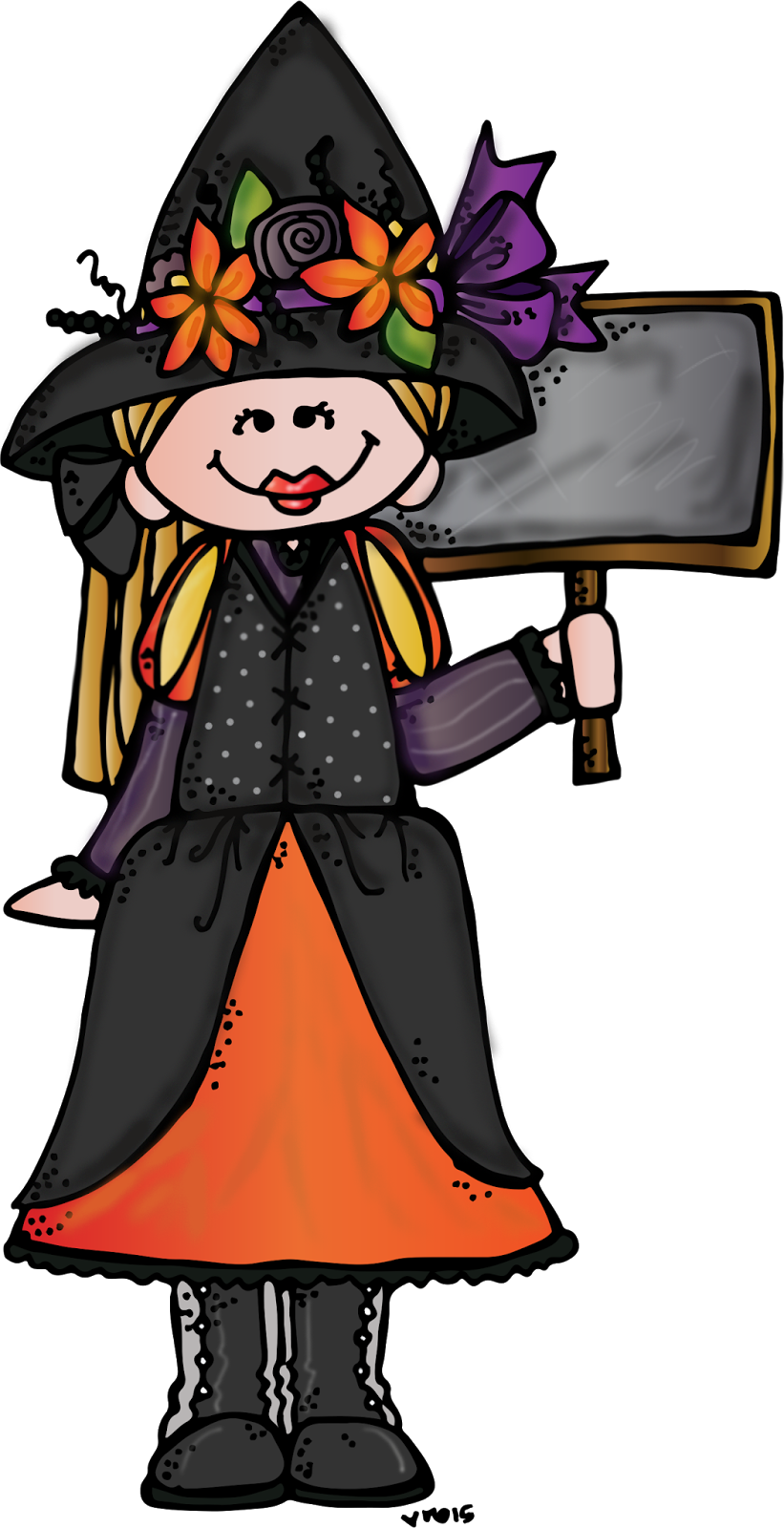 collection of halloween. Witch clipart melonheadz