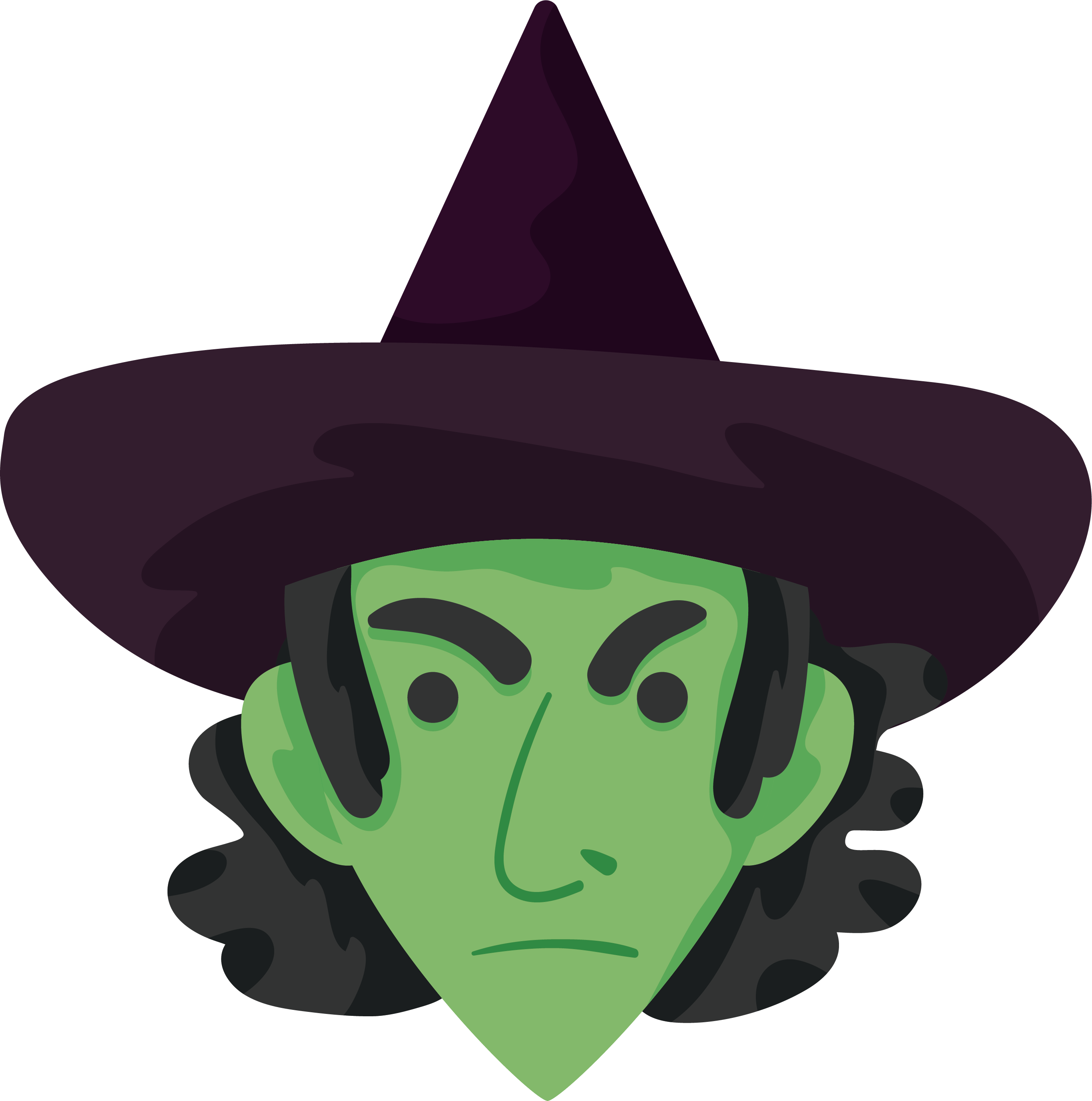 Witch clipart obese. Witches green frames illustrations