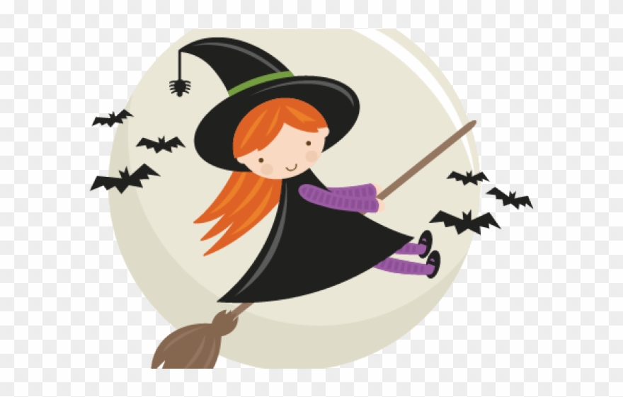 Witch clipart pretty witch. Cute free png download