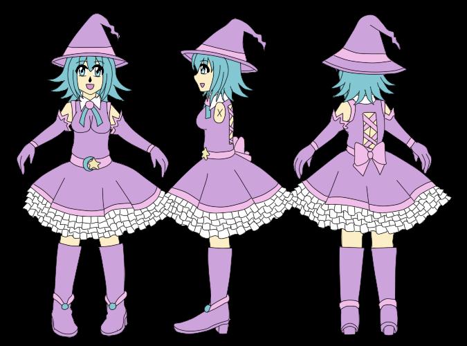 Matilda attire tas by. Witch clipart profile