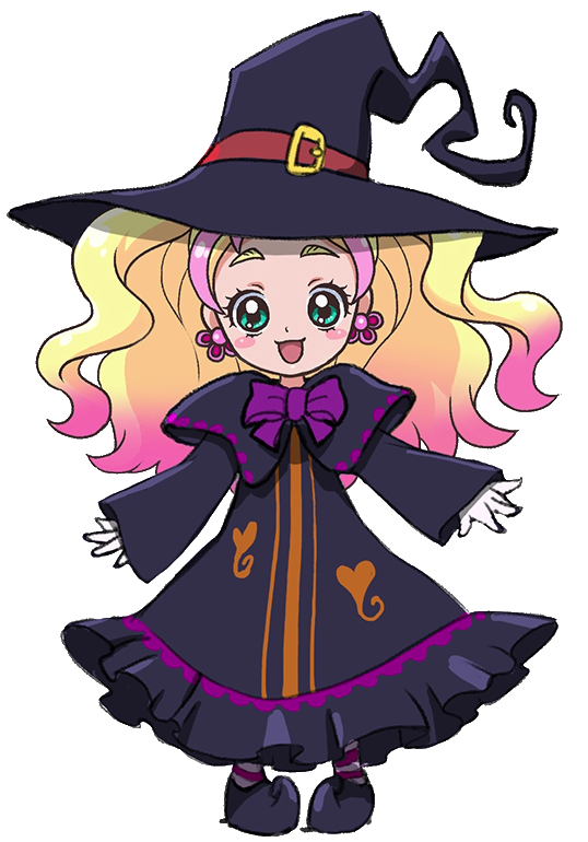 Image of chibi cure. Witch clipart profile