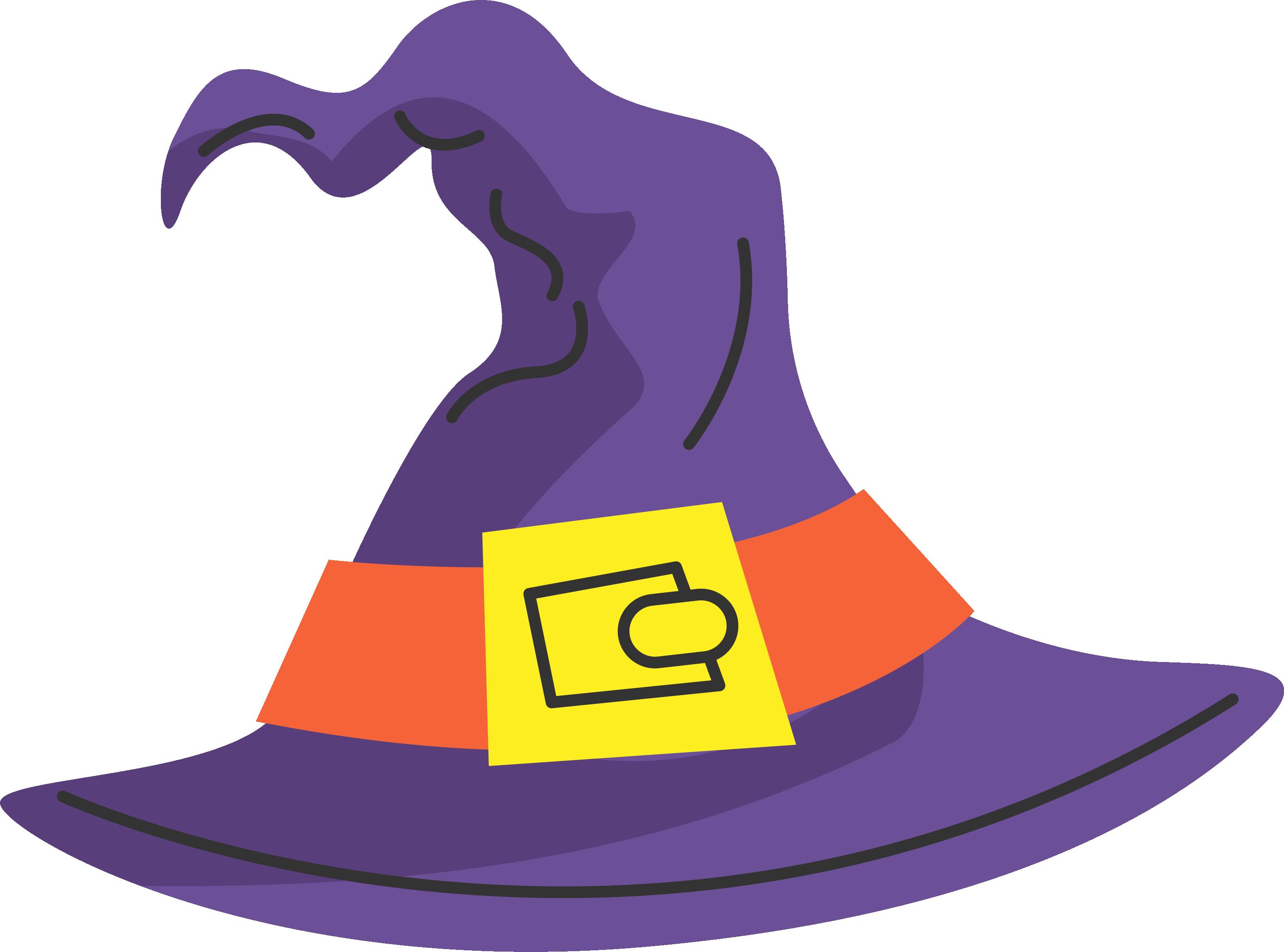 Hat boszorkxe ny cartoon. Witch clipart purple witch