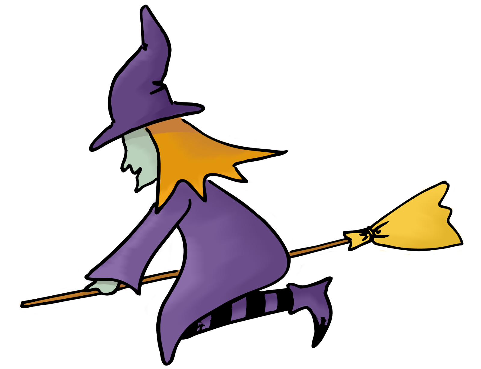 Witch clipart purple witch. The barefoot chorister october