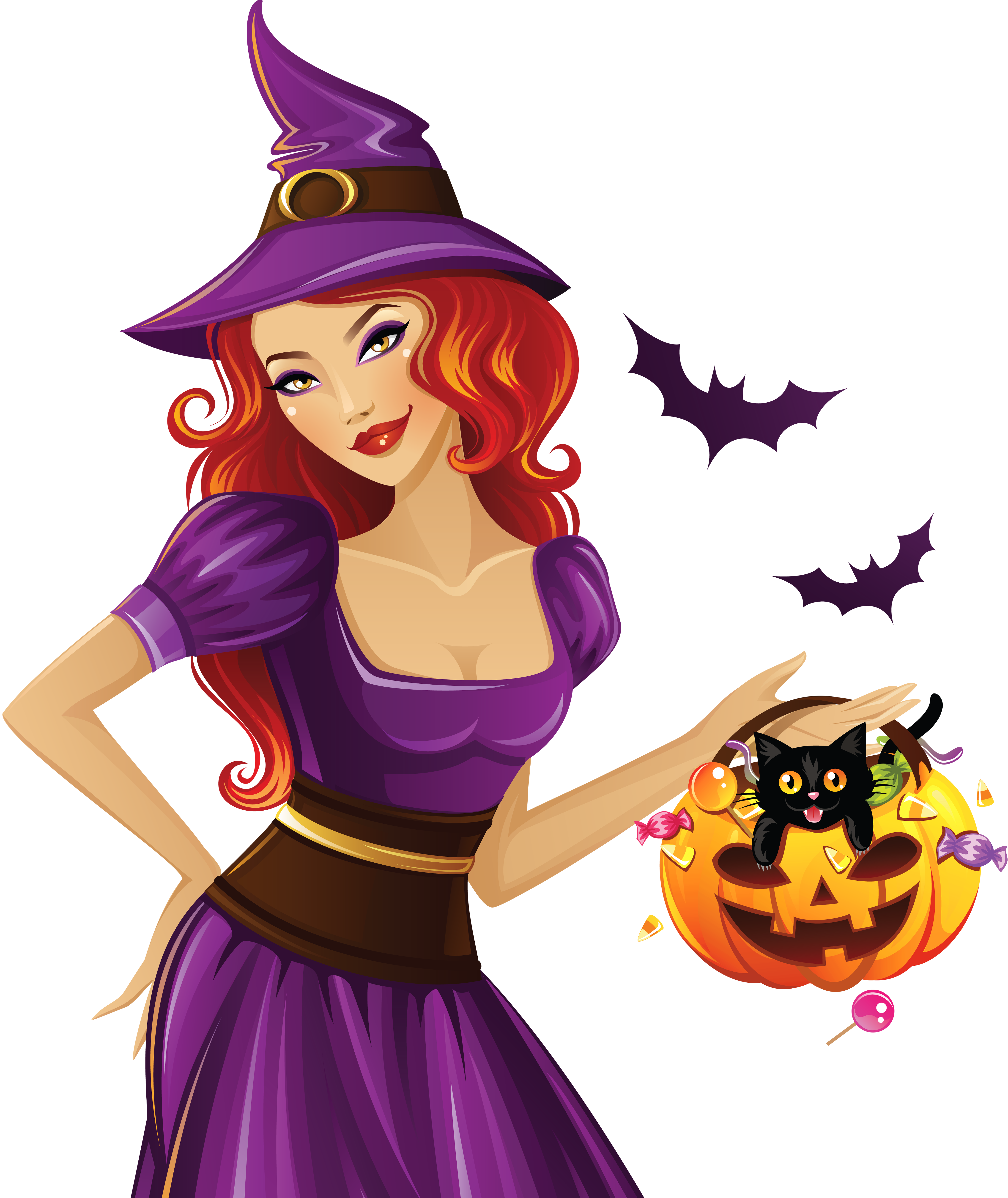 Witch clipart purple witch. Png gallery yopriceville high
