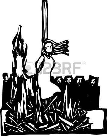 Witch clipart salem witch trial. Stock vector tattoo inspiration