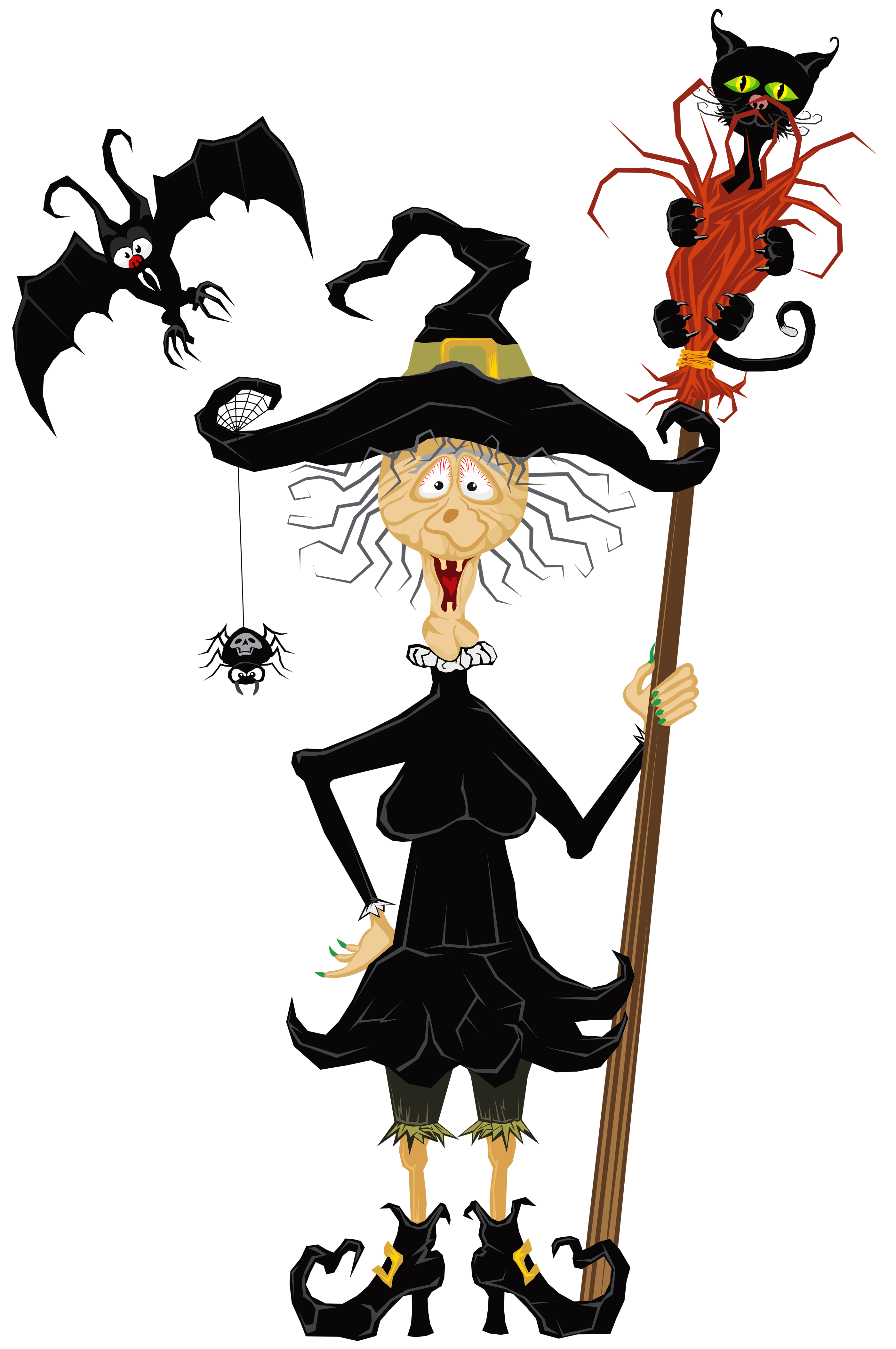 Witch clipart scary.  collection of creepy