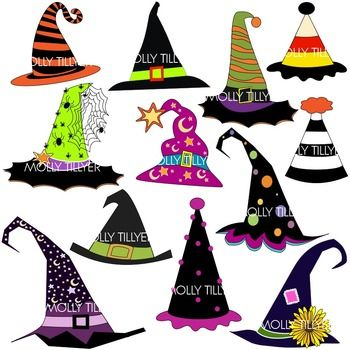 Witch clipart school. Hat clip art for