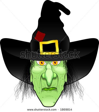 Pin on crafts . Witch clipart simple