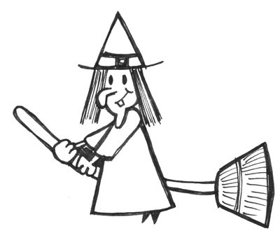 Witch clipart simple. Halloween drawing free download