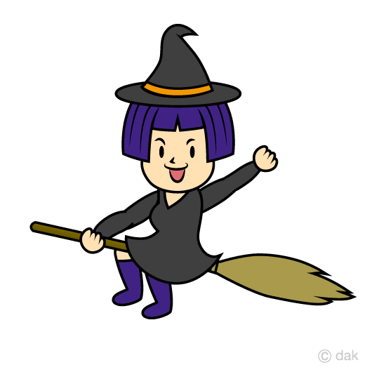 Witch clipart sky. Free download clip art