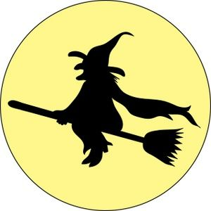 Witch clipart sky. Halloween pictures wicked image