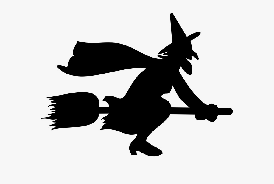 Witch clipart spooky witch. Download png halloween moon