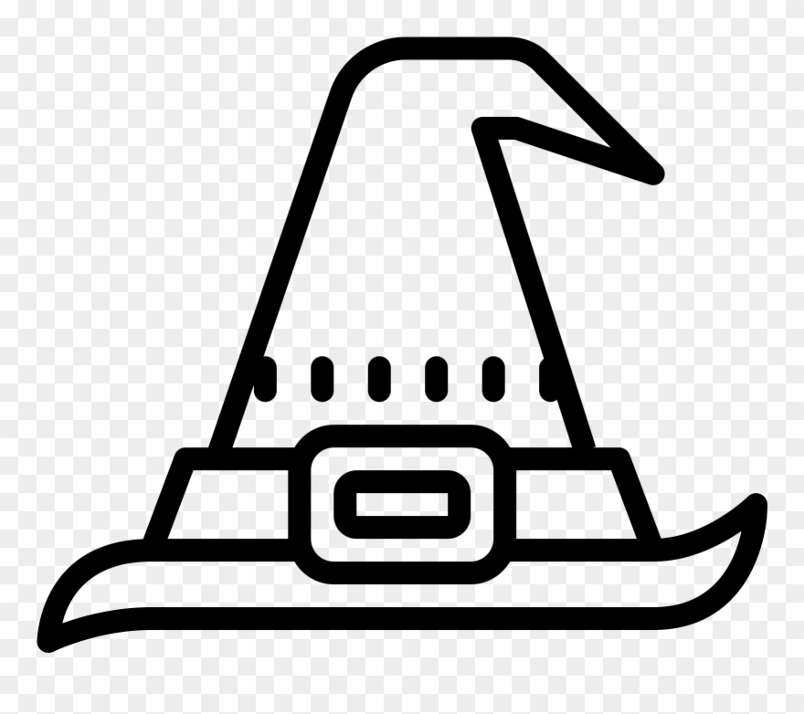 Witch clipart symbol. Icon witchcraft pinclipart