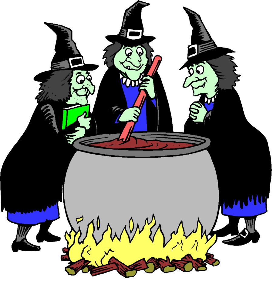 Witch clipart three witch. Bird cartoon illustration graphics