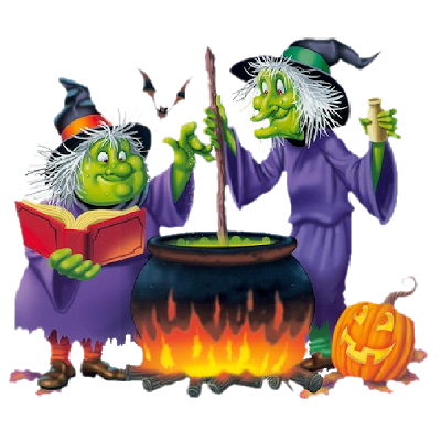 Pin on halloween art. Witch clipart two