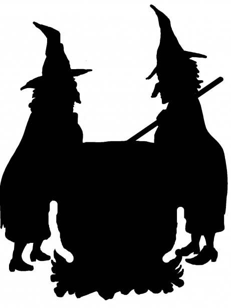 Witches free stock photo. Witch clipart two