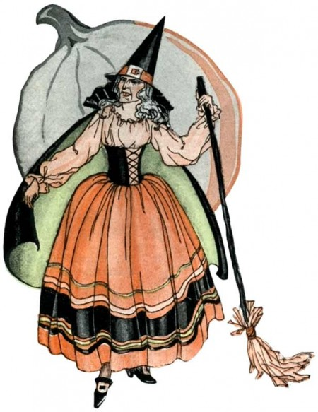 Witch clipart victorian. Free vintage cliparts download