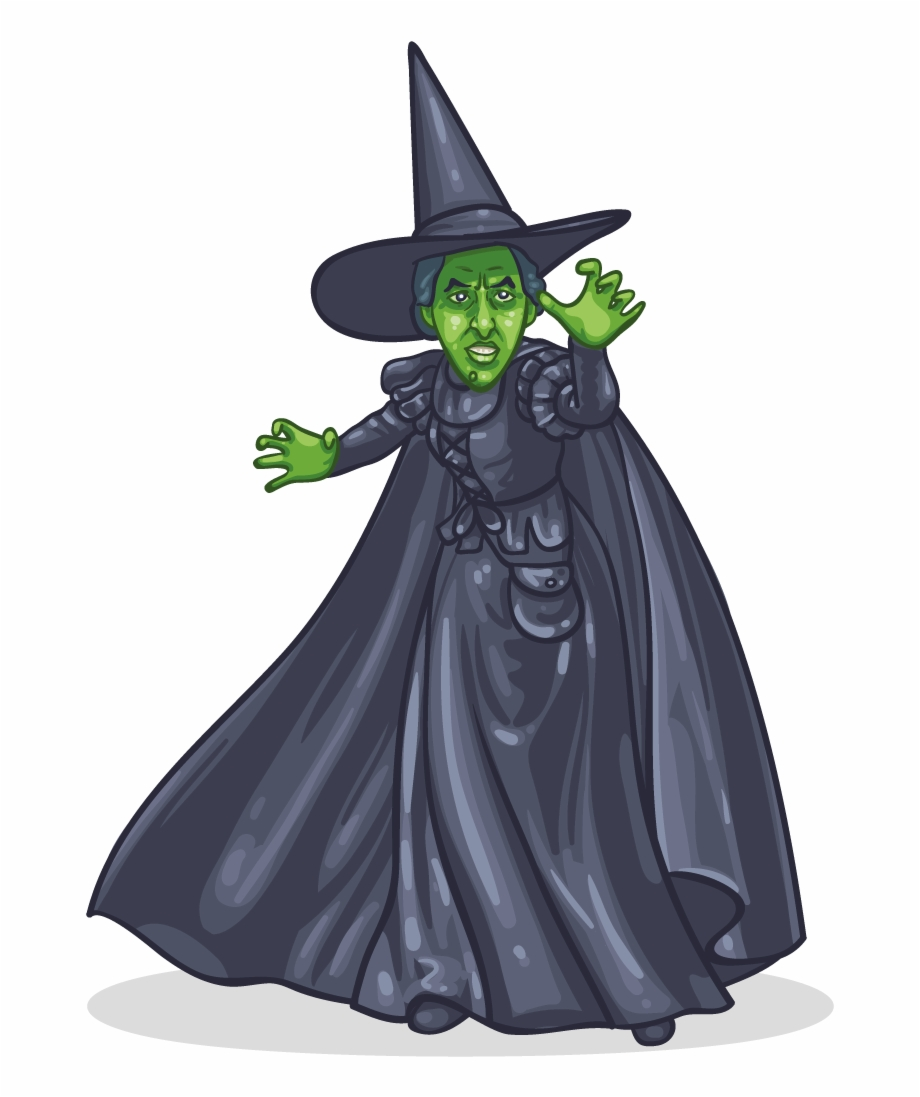 Free silhouette download clip. Witch clipart wicked witch