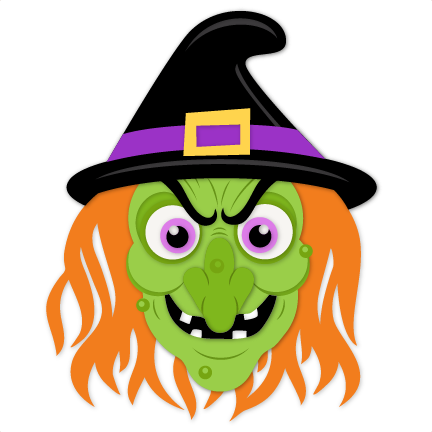 Witch clipart wicked witch. Svg scrapbook cut file