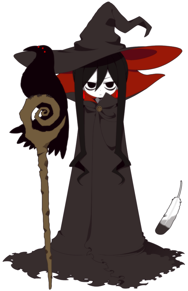 Witch clipart witch head. Great wadanohara and the