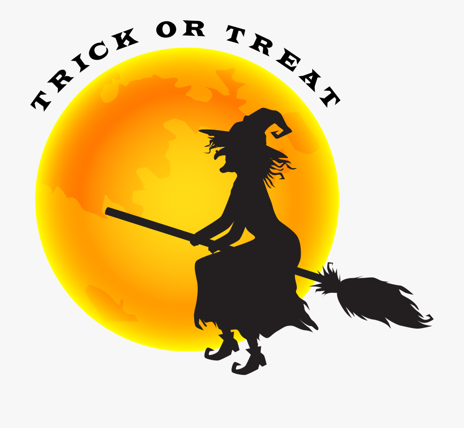 Witch clipart witch moon. Halloween and png clip