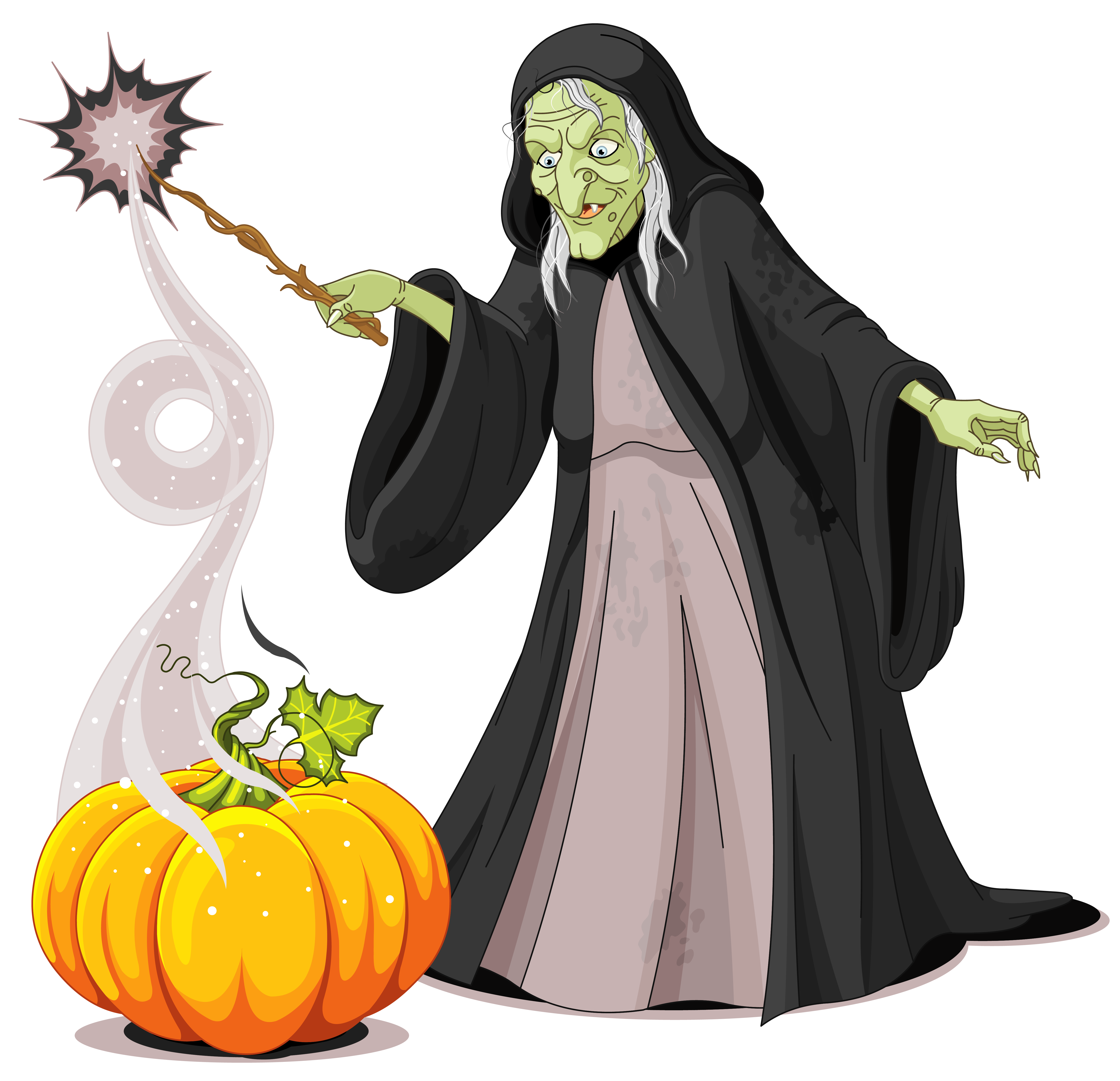 Halloween creepy png picture. Witch clipart witch spell