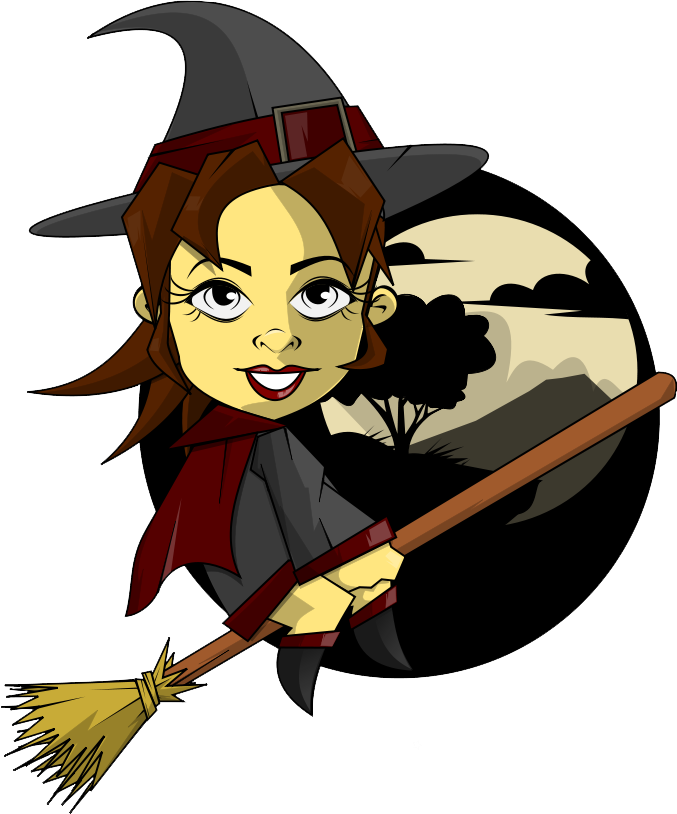 Witch clipart witchcraft. Panda free images witchcraftclipart