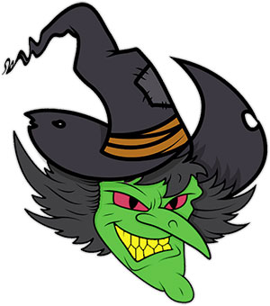 Witch clipart. Free graphics animations angry