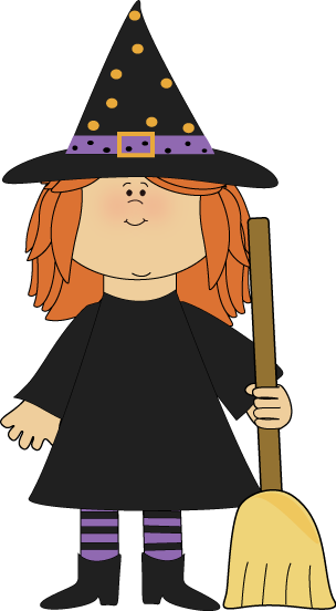 Halloween witch clip art. Witches clipart