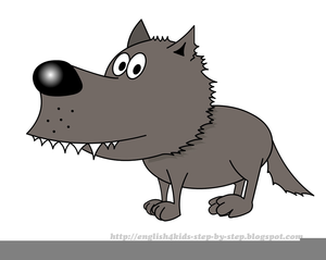 Wolf clipart. Free big bad images