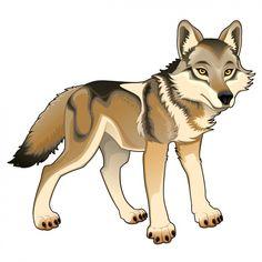 A d o r. Wolf clipart