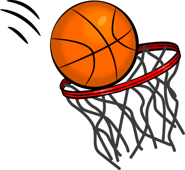 Bedford league . Wolf clipart basketball