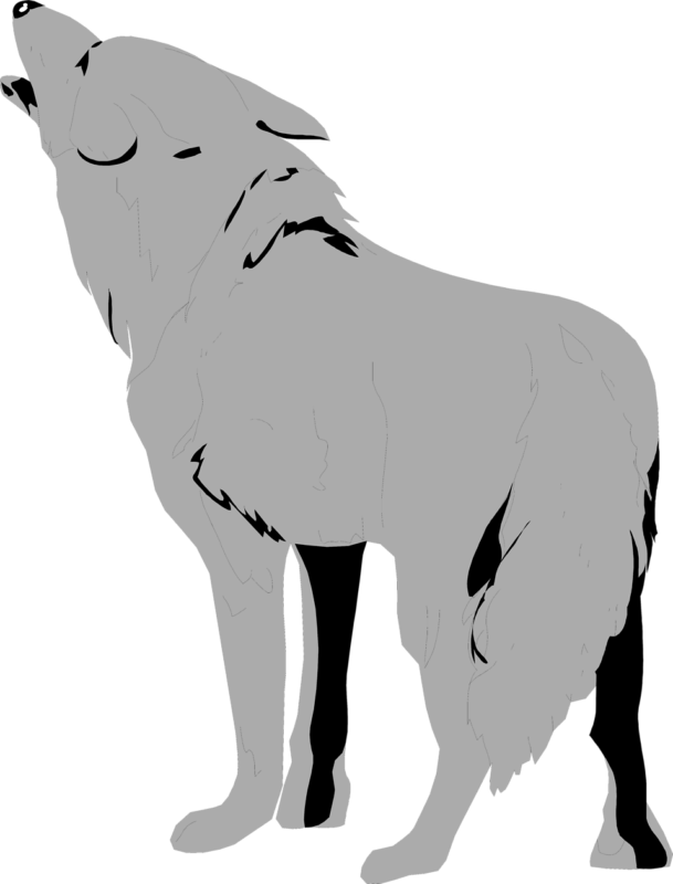 Wolves clipart cartoon. Wolf images free download